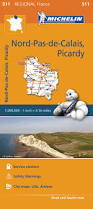 Calais France Map by Regional Map Of France Picardy The North Michelin Maps U0026 Guides