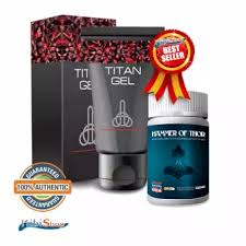 authentic titan gel lubricant 50g bundled with hammer of thor