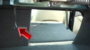 2012 nissan altima folding down the rear seats youtube