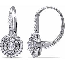 leverback diamond earrings cheap leverback diamond earrings white gold find leverback