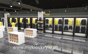 Furniture For Stores Clothes Kiosk Clothes Display Cabinet Mall Kiosk