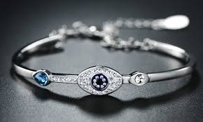 swarovski eye bracelet images Up to 23 off on swarovski elements bracelet groupon goods jpg