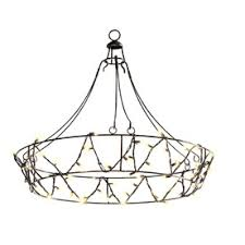 outdoor string light chandelier gemmy 10 5 ft black chandelier string lights products i love