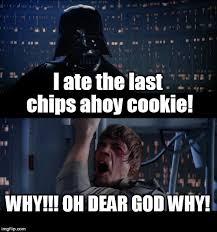 Oh Dear Lord Meme - star wars no meme imgflip