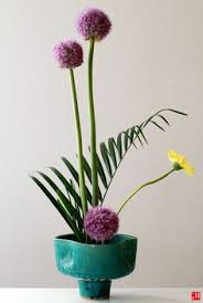 Japanese Flower Vases Ikebana Flower Decoration Wedding Inspiration Flower Arrangement