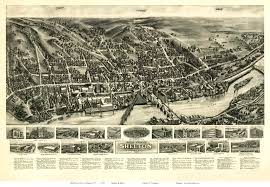Sidney Ohio Map by Old Maps Of Fairfield County Ct Retail