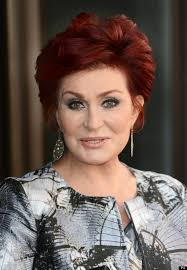 back view of sharon osbourne haircut sharon osbourne hairstyle makeup dresses shoes and perfume
