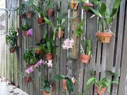Flower Pot Holders For Fence - fence hanging planters fence flower pots flower pot holders