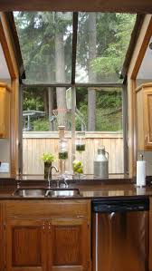 kitchen curtain rods ideas design excellent kitchen bay window