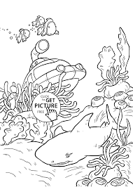 underwater little einsteins coloring pages for kids printable free