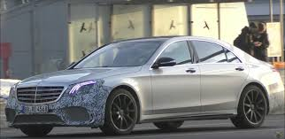 2018 mercedes amg s65 facelift shows new front end in spy video