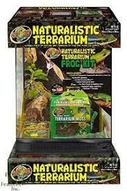 zilla vertical tropical terrarium kit 12x12x18