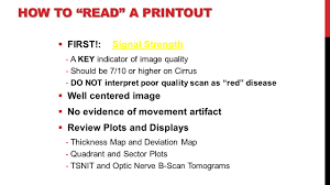 How To Read A Map Advances In Glaucoma Detection Ppt Video Online Download