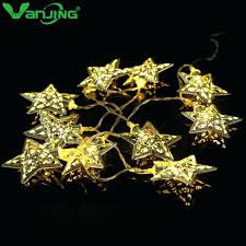 outdoor string lights lowes 10 light metal outdoor star