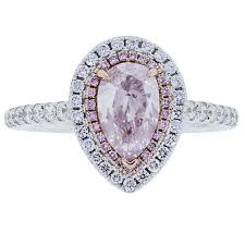 engagement rings sale images 1 01 carat pink pear shaped diamond gold engagement ring for sale jpg