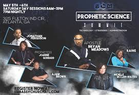 spirit halloween the meadows the prophetic science summit with apostle bryan meadows