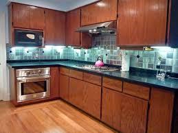 Stunning Blue Green Glass Tile Backsplash Ideas Home Design - Blue tile backsplash kitchen