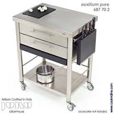 stainless steel kitchen cart kitchen island with wheels
