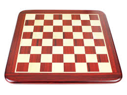 bud rosewood maple rounded corners classic flat chess board 15
