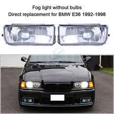 bmw e36 fog light bracket 92 98 bmw e36 3 series head bumper side fog light bracket clear wt