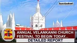 Festival Of Flags Annual Velankanni Church Festival To Begin Today With Flag