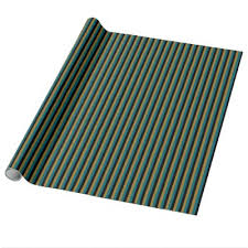 matte black wrapping paper teal gold black and white stripes wrapping paper zazzle