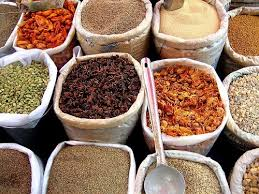 what does the word cuisine the indian cuisine could not do without its vibrant spice mixes