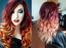 hair color ideas for black women bleached hair dip dyed