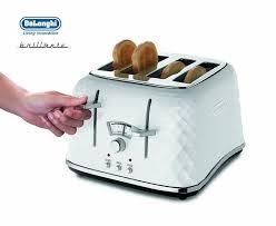 Bosch Styline 4 Slice Toaster Delonghi Brillante 4 Slice White Toaster Ctj4003w Around The
