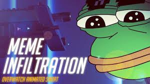 Animated Meme - overwatch animated short meme infiltration youtube