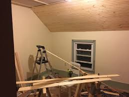 Pine Ceiling Boards by How To Install Tongue And Groove Panels On A Ceiling Dan Nix