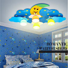 online shop colorful kid u0027s led ceiling lamp children room moon