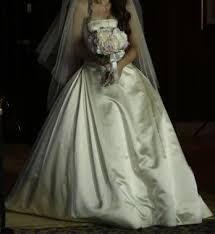 me your wedding dress me your satin wedding dress weddingbee