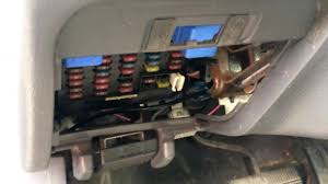 1996 nissan pathfinder fuse box location youtube