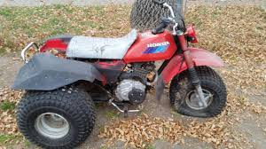 honda big red 3 wheeler motorcycles for sale