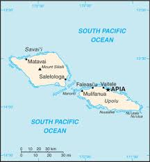 map samoa the world factbook central intelligence agency
