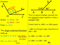 addition angle addition postulate worksheets pdf free math