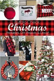 69 best red u0026 black buffalo plaid christmas images on pinterest
