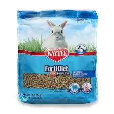 rabbit food kaytee forti diet pro health rabbit food for juvenile