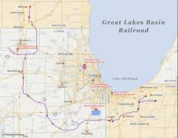 Wisconsin Lakes Map by Opponents Campaign Against Railroad Plan News Rockford