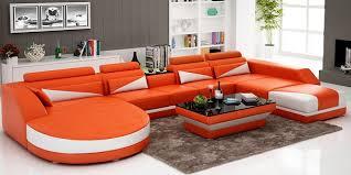 Leather U Shaped Sofa U Shaped Sofa Designs 2018 Cozysofa Info