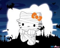 hello kitty halloween desktop wallpaper wallpapersafari
