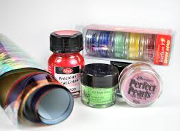 you can use powders foils and paints with polymer clay more beginner tips