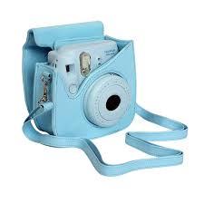black friday sale amazon instax fujifilm case for fuji instax mini 8 camera blue amazon co uk