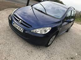peugeot diesel estate cars for sale 2004 peugeot 307 sw 2 0 hdi diesel estate new mot sept 2018