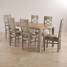 Dining Table Sets Free Delivery Oak Furniture Land - Light oak kitchen table
