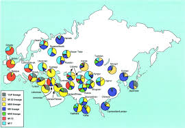Genetic Map Who Are The Ainu People Heritage Of Japan