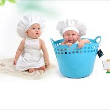 baby boy photo props online shop newborn unisex baby boy girl chef hat photography