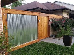 best 25 metal fences ideas on pinterest corrugated metal fence