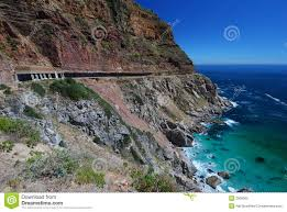 scenic drive cape town stock image image of engineering 2009965